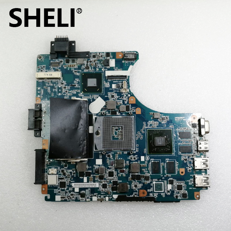 SHELI A1848534A For Sony V061 MBX-240 Laptop Motherboard 1P-0113J01-8011 DDR3 REV:1.1  100% Test Ok