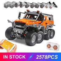 Moule roi RC blocs 13088 Avtoros Shaman 8x8 Compatible lepinblock 23011 technique MOC-5630 briques de construction jouets éducatifs cadeau