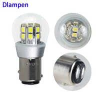 Lampada bay15d p21 5w 1157 4W Led-lampen für Zurück Up Umge Lichter Schwanz Licht 6V 12v super Auto Motor Schwanz Backup-lampe