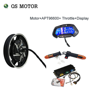 QS Motor 17inch 8000W 72-96V 110-120km/h Electric Motorcycle Kit/Electric Motorcycle Conversion Kit