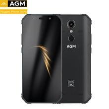 AGM A9 IP68 Waterproof Rugged  Phone 5.99″HD 18:9 4GB 32GB 64GB ROM  SDM450 Octa Core 5400mAh Fingerprint Type-C NFC