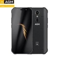 """AGM A9 IP68 wodoodporny wytrzymały telefon 5.99 """"HD 18:9 4GB 32GB 64GB ROM SDM450 Octa Core 5400mAh odcisk palca type c NFC"""