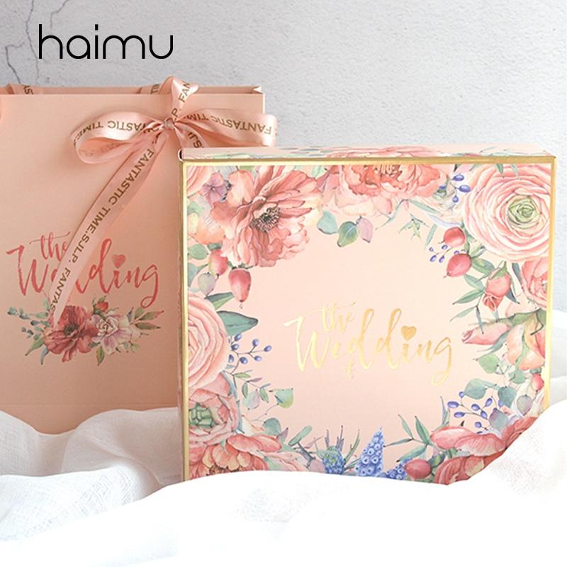 Floral Bridesmaid Wedding Gift Tote Wedding Favor