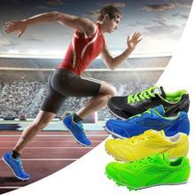 Профессиональная обувь с шипами для занятий спортом, для мужчин и женщин, спортивная обувь для бега, Беговая беговая Обувь, мягкая обувь, кроссовки 40-42