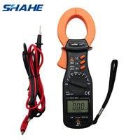 Shahe VC3218 Digitale Stroomtang Multimeter Ac Dc Stroom Spanning Auto Range Weerstand Ampèremeter Elektrische