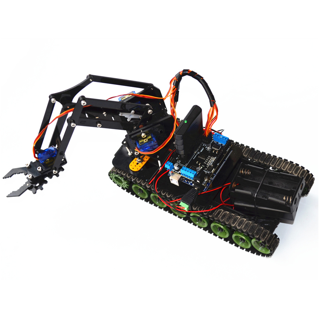 New DIY Programmable Arduino Robot Kit Made With Plastic And Metal Material For Arduino 4