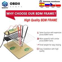 LED BDM 프레임 BDM 테이블 FGTECH V54 BDM100 BDM 22pcs 어댑터 프로브 ECU 프로그래머 FGTECH V54 ECU 칩 튜닝 성 노출증 테스터