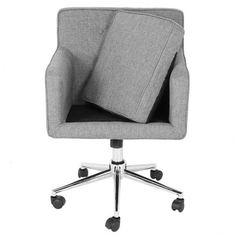 Компьютерное кресло мобильного 360 градусов эргономичный Офис стул с эффектом памяти Memory Foam амортизацию Нержавеющаясталь основание мебель...