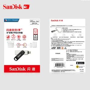 Image 5 - SanDisk usb 3.0 Neue Apple Handy U Disk 128GB Stift Stick Flash Memory Metall USB 256GB Blinken Auf Usb Sticks Computer /iphone/ipad