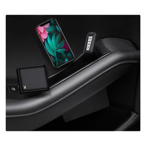 Image 4 - RUIYA 자동차 사이드 도어 스토리지 박스 For Mazda 3 4th/Mazda CX 30 2019 오른쪽 방향타 차량 도어 핸들 스토리지 액세서리 블랙