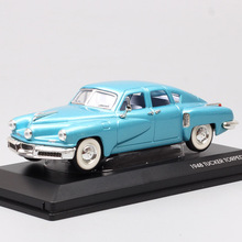 1/43 Scale Road Signature classic vintage 1948 Tucker Torpedo sedan 48 Diecasts & Toy Vehicles model mini cars souvenir for kids