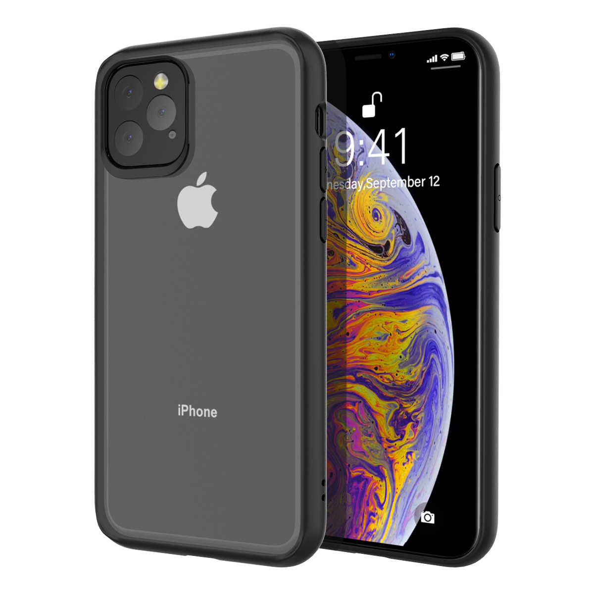 Voor Iphone 11 11 Pro Max X Xs Xs Max Xr Case Clear Hybrid Tpu + Pc Transparant Shockproof Cover voor Iphone 7 8 7 Plus 8 Plus Case
