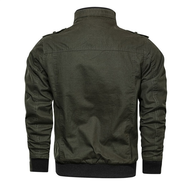 2019 Military Jacket Men Spring Autumn Cotton Windbreaker Pilot Coat Army Men's Bomber Jackets Cargo Flight Jacket Male Clothes 21