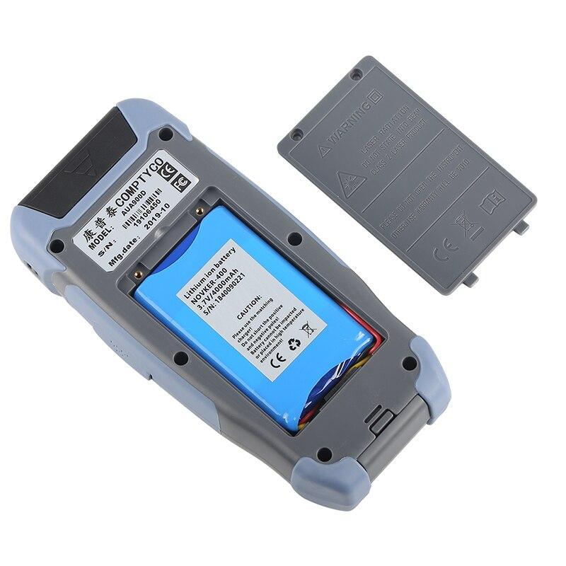 Pro мини волоконно-оптический рефлектометр с 9 функциями VFL OLS OPM карта событий 24dB для 64 км волоконный кабель Ethernet тестер