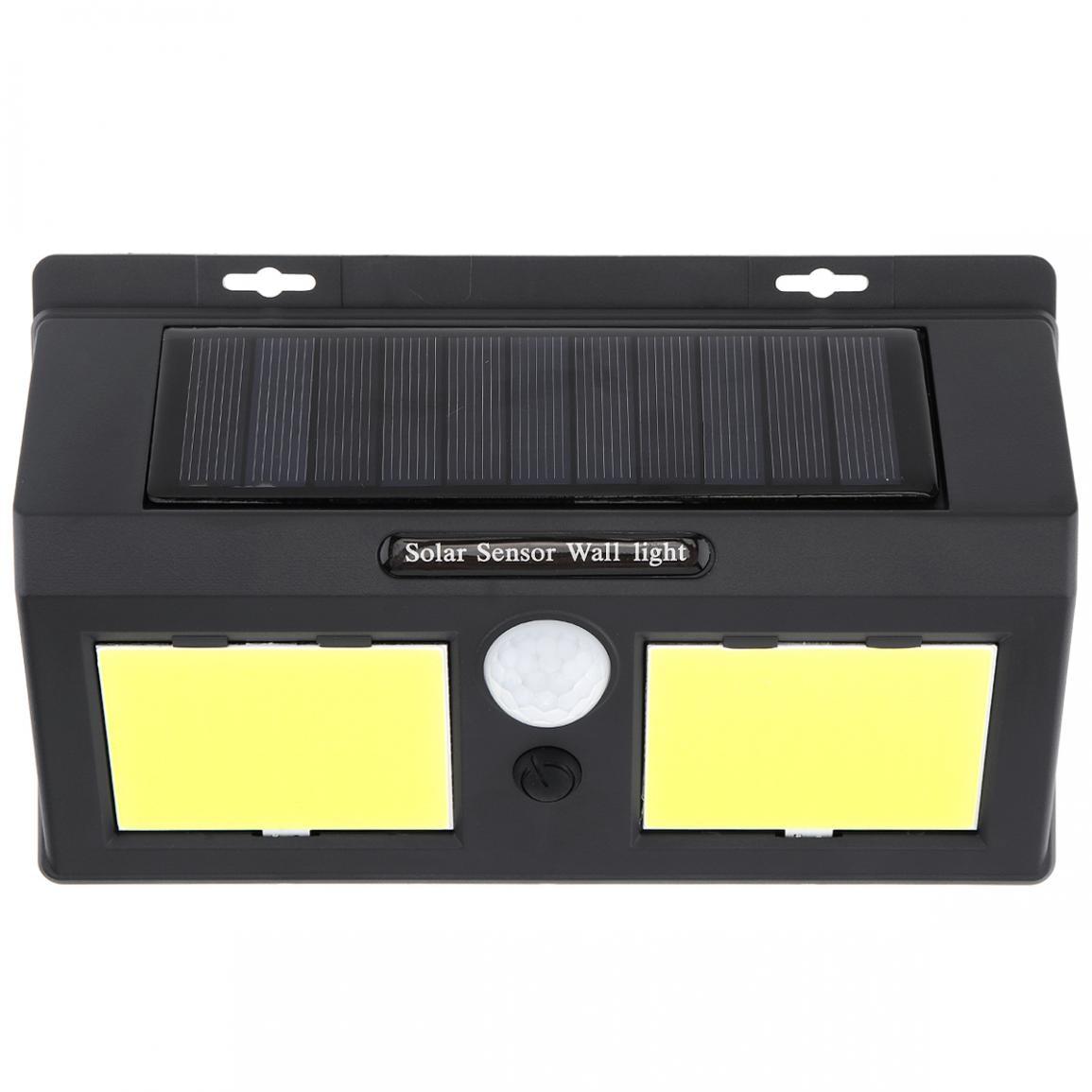 dupla 96 cob led energia solar pir 03