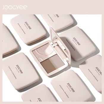Highlighter Contouring Palette 3 Color Long-lasting and Waterproof Nose Shadow Face Lifting Hairline Powder 3d Dazzling