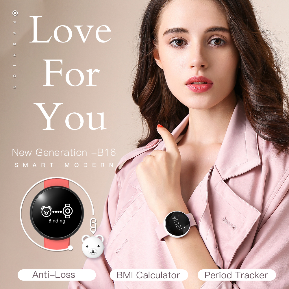Image 2 - Bozlun Womens Smart Watch for iPhone Android Phone with Fitness  Sleep Monitoring Waterproof Remote Camera GPS Auto Wake Screenwatch  forwatch for iphonewatch smart