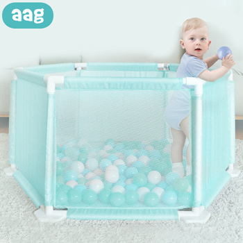 AAG Baby Playpen Ball Pool Children Safety Barrier Kids Ocean Ball Play Tent Baby Fence Newborn Home Play Place Child Playpens