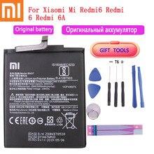 Original Battery BN37 3000 mAh for Xiaomi Redmi 6 Redmi6 Redmi 6A High Quality Phone Replacement Batteries+Free Tools original bm46 battery for xiaomi redmi note 3 phone high quality replacement batteries 4050mah