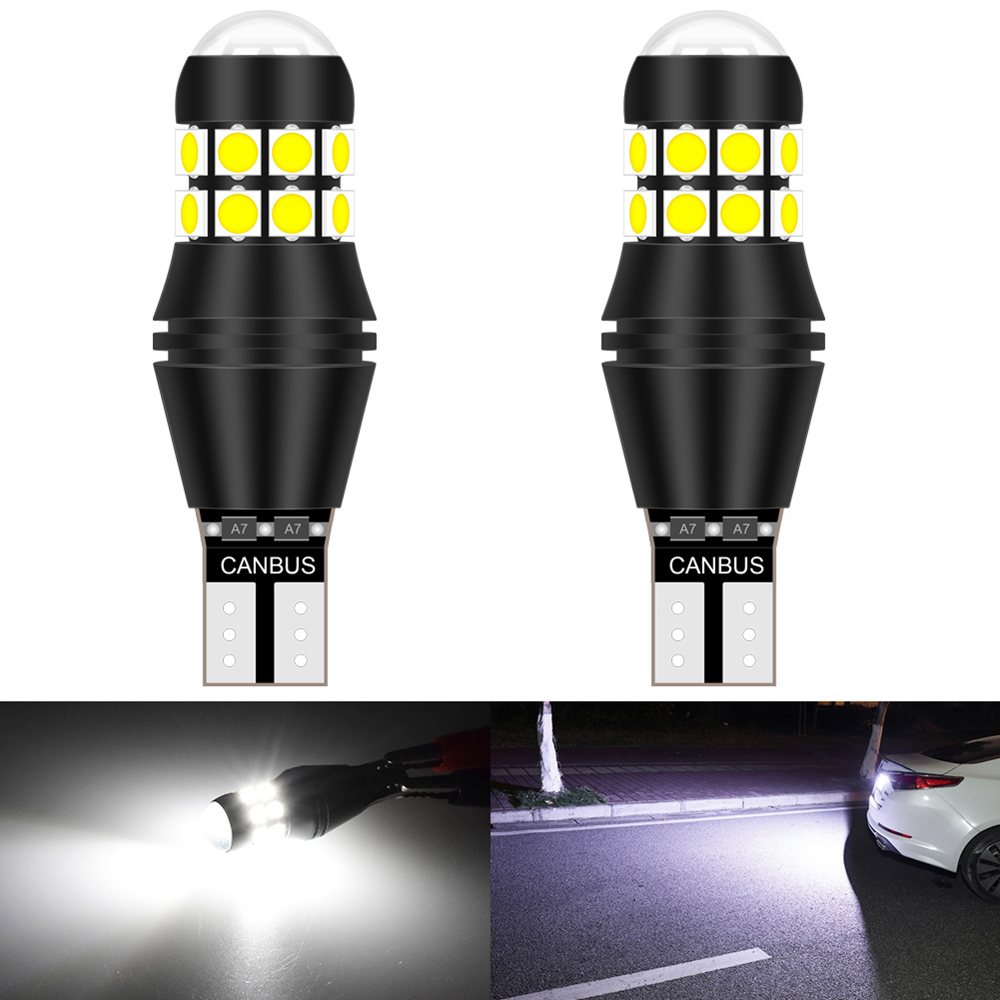 2pcs T15 921 W16W <font><b>LED</b></font> Canbus Bulb Car Backup Reverse Light for BMW E36 E90 F30 F80 E93 E92 F34 E91 <font><b>F31</b></font> E46 E87 F20 F21 E60 image