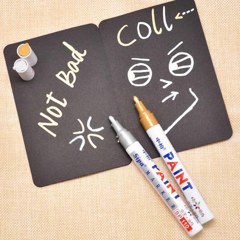 Plastik Metalik Beyaz Tahta İşaretleyiciler Grafiti işaretleme kalemleri Çocuklar Hediyeler Için DIY Boyama Çizim Okul Malzemeleri Ofis Kırtasiye