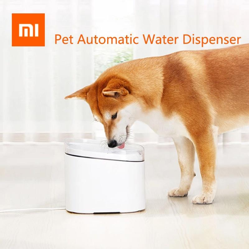 NEW Xiaomi Mijia Kitten Puppy Pet Water Dispenser Cat 2L Electric Pet Fountain Automatic Smart Dog Drinking Bowl Pet Product