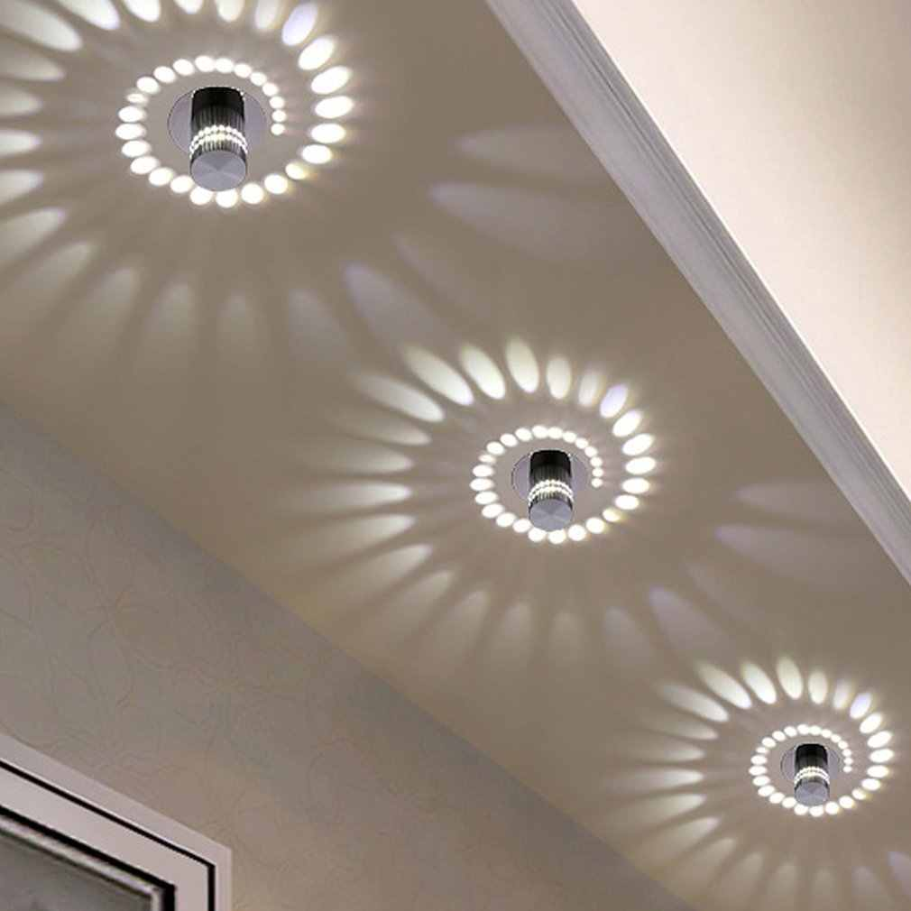 3W Classic Design Wall Ceiling Lights Indoor For Room Background Home Decoration