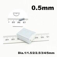 05 Тонкий Магнит Диаметр 1 10 micro диск imanes де neodinio