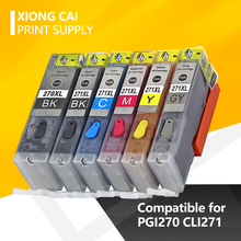 цена на PGI270 CLI271 Refillable ink cartridge Compatible For Canon for Canon PIXMA MG7720 TS9020 TS8020 printer