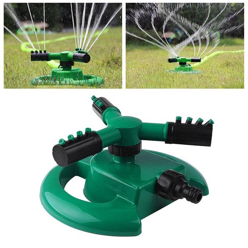 ABS + PP Kunststoff Düse Gedreht 360 ° Durable Bewässerung Ausrüstung Werkzeuge Grün Praktische Wasser Sprinkler Pflanzen Bewässerung System