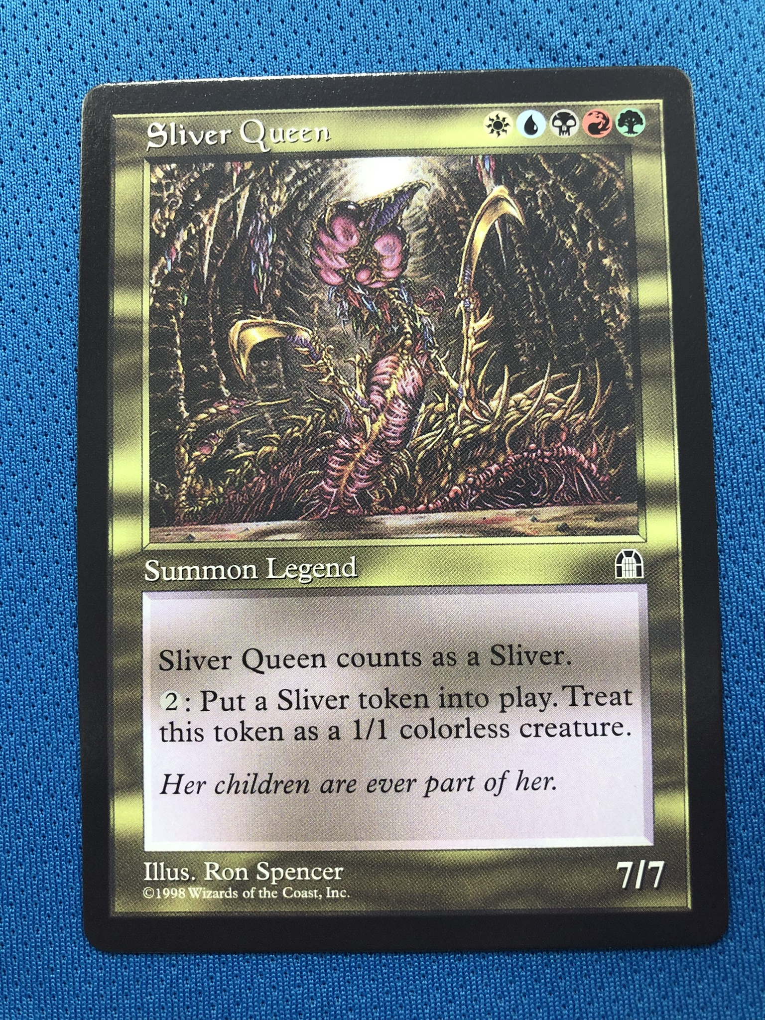 Sliver Queen 	 SH (Stronghold) STH Magician ProxyKing 8.0 VIP The Proxy Cards To Gathering Every Single Mg Card.