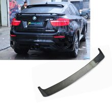 E71 X4 F12 X6 F06 F16 Modification Carbon Fiber Rear Wing Spoiler Wind Wing Suitable for BMW 6 Series G02