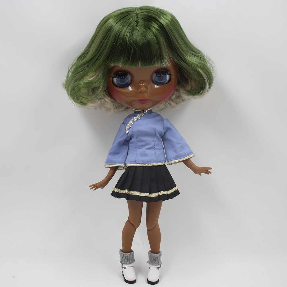 Ледяная Blyth фабрика кукла подходит для одевания самостоятельно DIY Изменить игрушка BJD Специальная цена