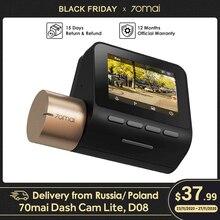 70mai Dash Cam Lite GPS DVR Xe Ô Tô WIFI Dashcam 24H Bãi Đậu Xe Màn Hình Quay Video 1080P HD Ban Đêm dash Camera
