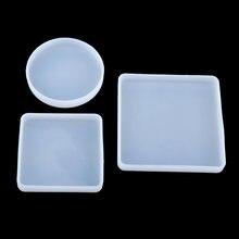 Круглые формы для выпечки из смолы 3 шт квадратные круглые украшения