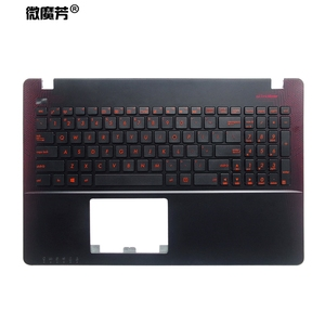 US keyboard for Asus K550 A550 Y581 X550V X552C X550 X550C X550L F501 F501A F501U Y582 S550 D552C x550KD Palmrest Upper cover(China)
