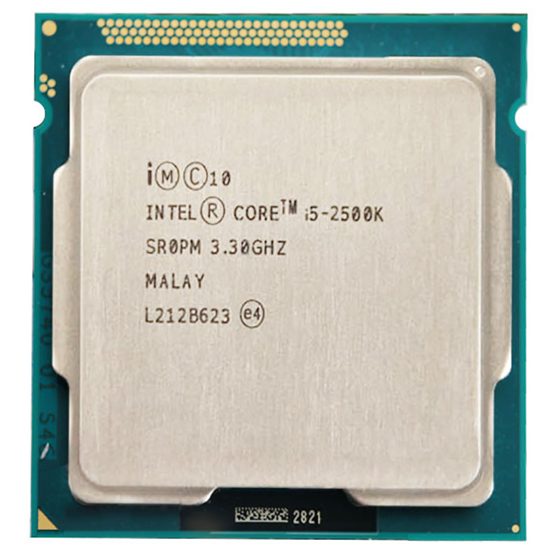 Процессор Intel Core i5 2500K cpu 6M Duad-Core 3,3 GHz 95W Socket 1155 i5-2500K cpu image