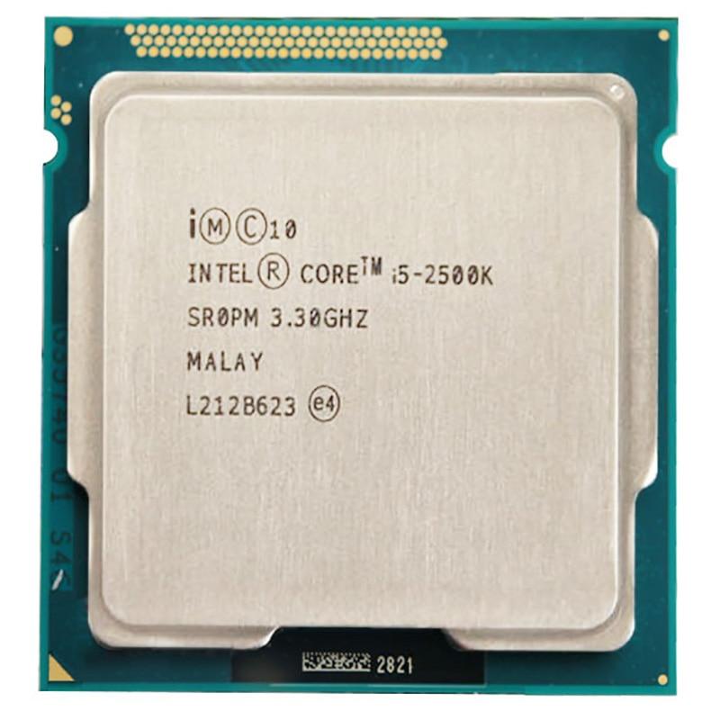 Intel Core I5 2500K CPU 6M Duad-Core 3.3GHz 95W Socket 1155 I5-2500K CPU