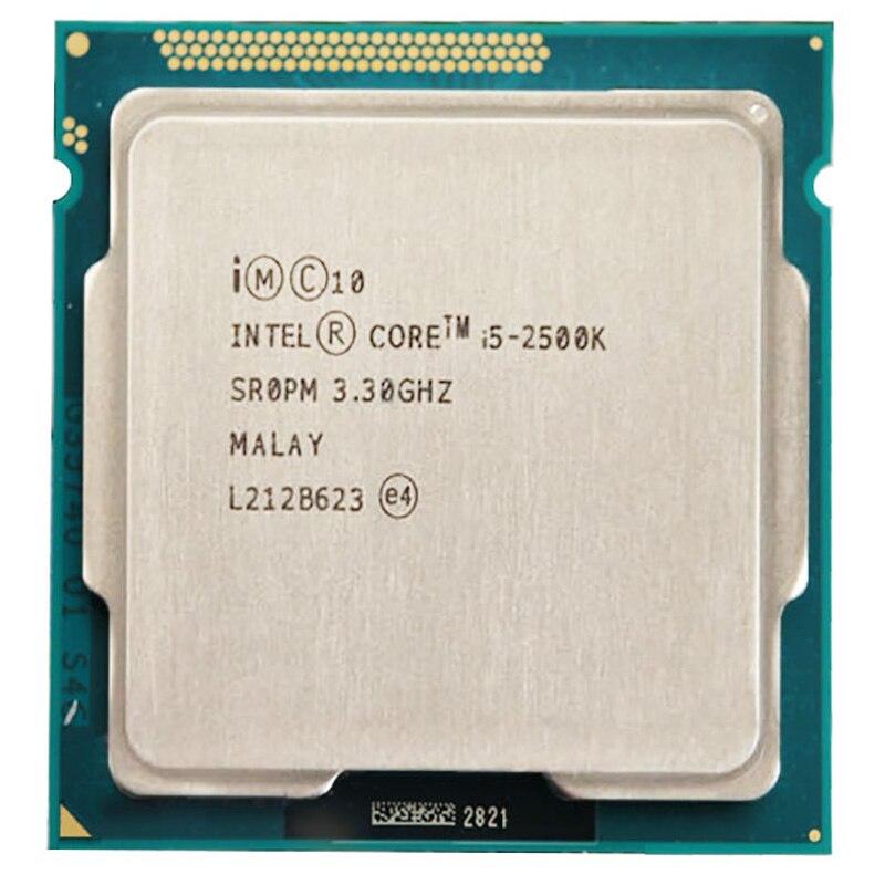 Intel Core i5 2500K CPU 6M Duad-Core 3,3 GHz 95W Sockel 1155 i5-2500K CPU