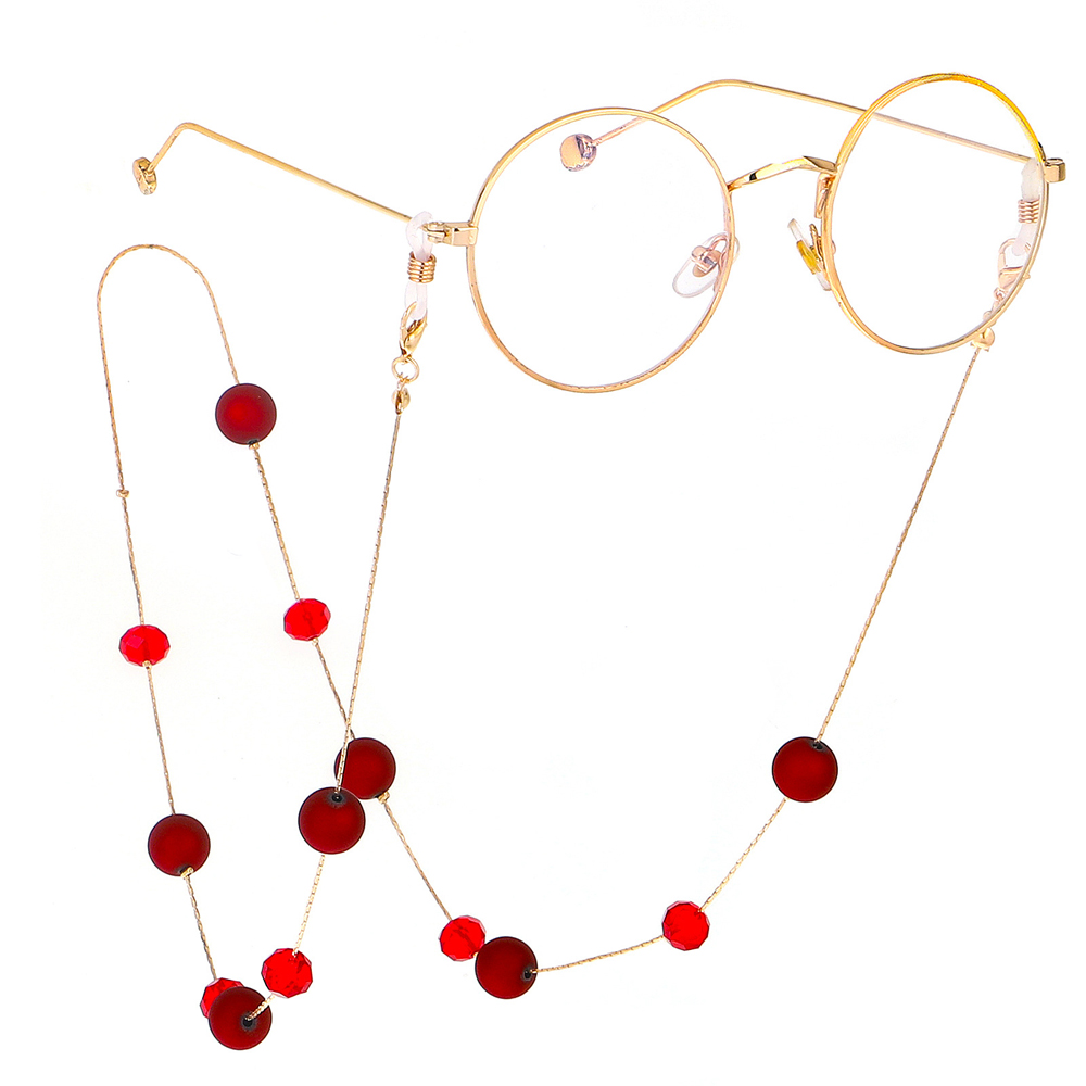Beads  Eye wear Accessories Glasses Necklace  Eyeglass Lanyard  Glasses Chain