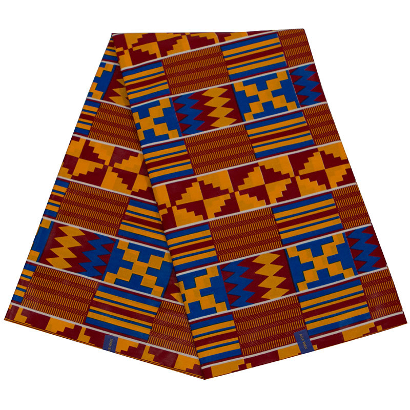 100% Cotton High Quality  Real Dutch Wax African Print Wax Fabric