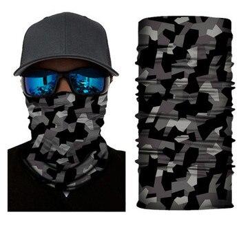 Military Army Camouflage Series pattern Bandanas Sports Ride Bicycle Motorcycle Turban Magic Headband Veil Scarf 6