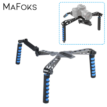 Aluminium Alloy Foldable Steady DSLR Rig System with Shoulder Mount For Video Stabilization Digital SLR Cameras and Camcorders