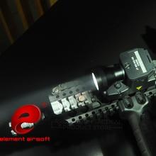 عنصر Airsoft التكتيكية مصباح يدوي ELLM01 الأحمر الأشعة تحت الحمراء ليزر إضاءة بالأشعة تحت الحمراء فانوس للصيد بندقية الأسلحة الخفيفة EX 214