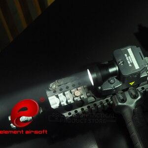 Image 1 - Element Airsoft Taktische Taschenlampe ELLM01 Rot IR Laser Infrarot Licht Laterne Für Jagd Gun Waffen Licht EX 214