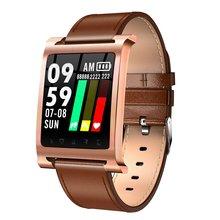 K6 Смарт-часы браслет пульсометр фитнес-трекер умный Браслет IP68 водонепроницаемый спортивный смарт-браслет подарки Прямая поставка