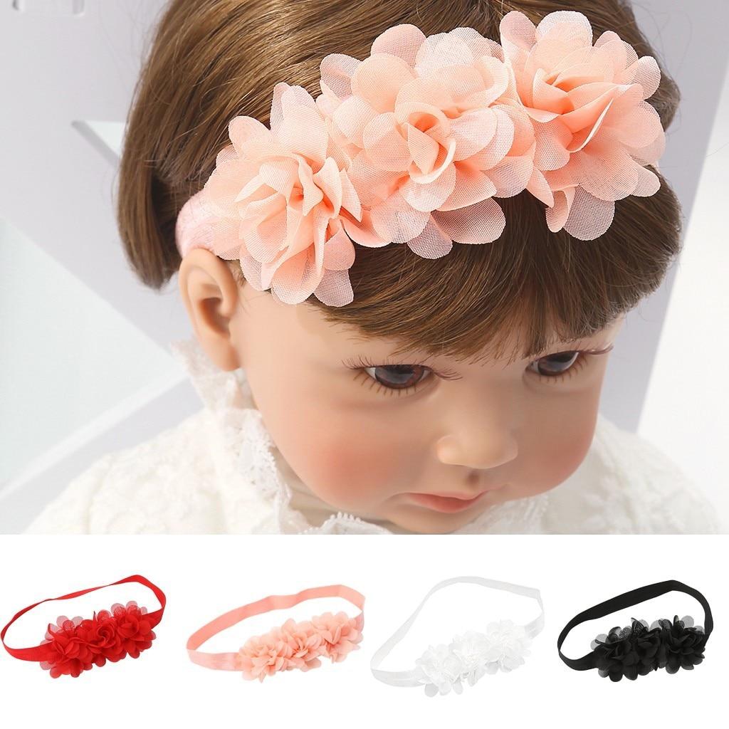 Mother Baby Cute Flower Paisley Headband Turban Matching Headwear Hair Band