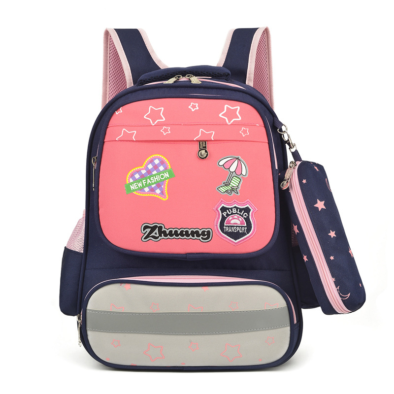 2019 New Products Schoolbag For Elementary School Students 3-4-5 Grade Women's Shoulder Ye Guang Tiao New Pattern CHILDREN'S Ruc