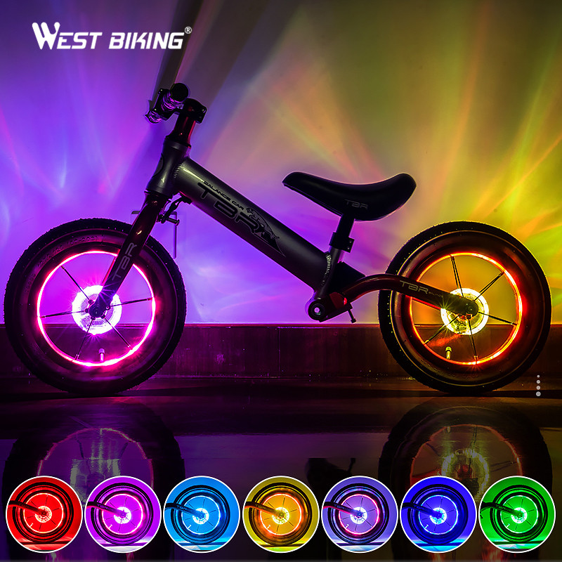 Rechargeable Smart LED Bicycle Wheel Light Lighting Tech Gadgets Novelty Lightings