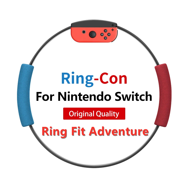 Ring Fit Adventure for Nintendo Swith with Ring-Con and Leg Fixing Strap Set(Not include game)
